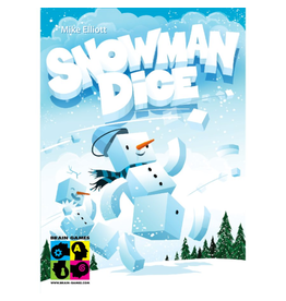 Brain Games Snowman Dice [multilingue]