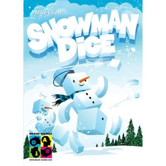 Brain Games Snowman Dice [Multi]