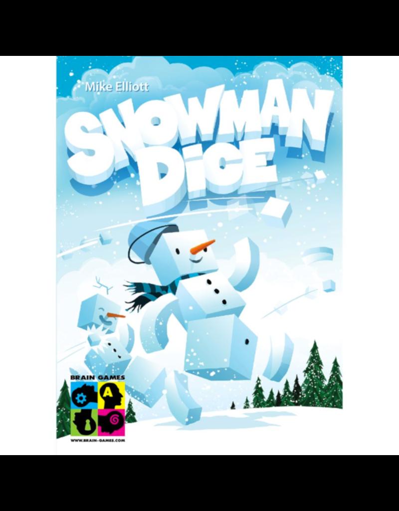 Brain Games Snowman Dice [multilingue]