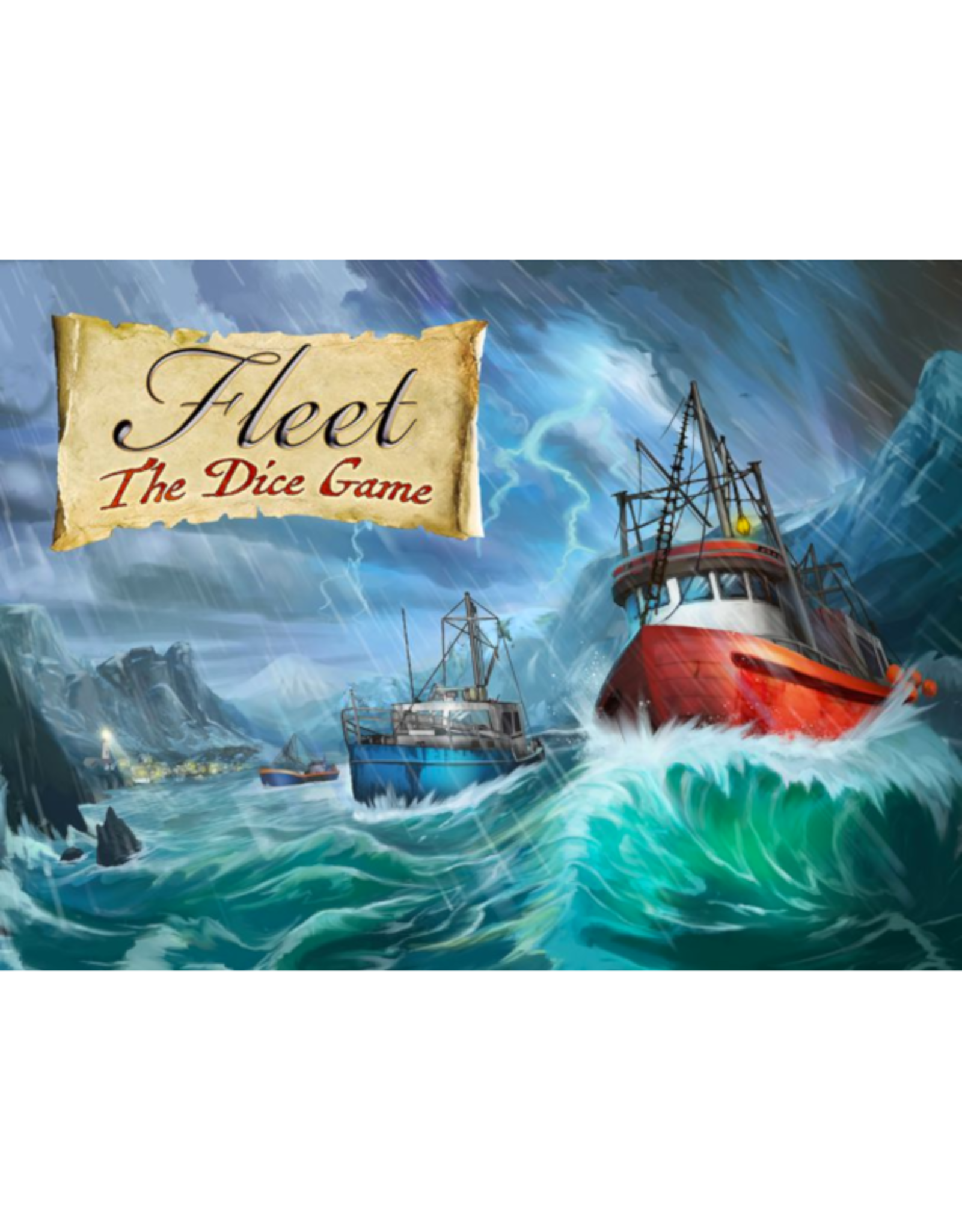 Eagle-Gryphon Games Fleet - The Dice Game [anglais]