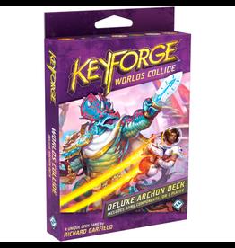 Fantasy Flight Games Keyforge - Worlds Collide : Deluxe Deck [anglais]