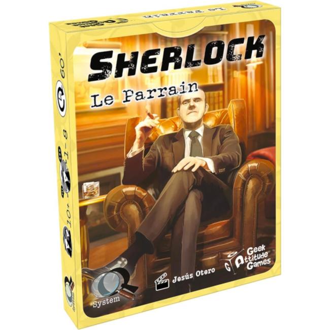 Geek Attitude Games Sherlock (Q System) - Le Parrain [French]