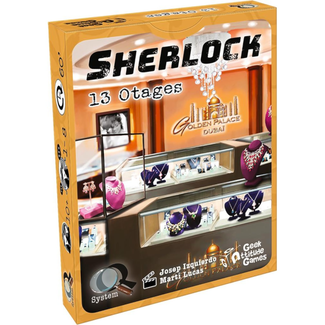 Geek Attitude Games Sherlock (Q System) - 13 otages [French]