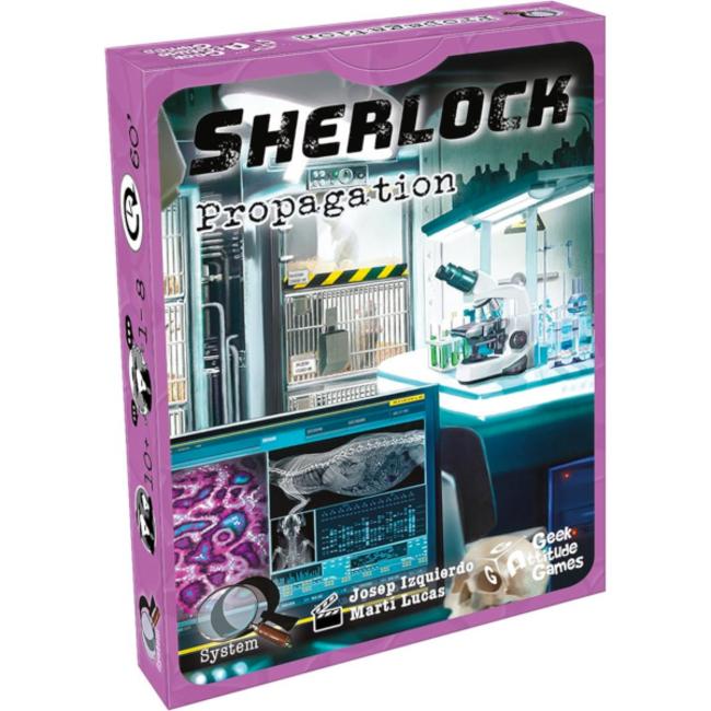 Geek Attitude Games Sherlock (Q System) - Propagation [French]