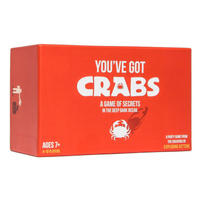 Exploding Kittens You've got Crabs [anglais]
