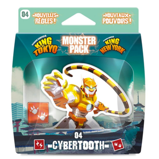 Iello King of Tokyo : Monster Pack - Cybertooth [French]