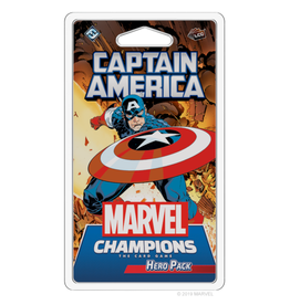Fantasy Flight Games Marvel Champions - The Card Game (LCG) : Captain America Hero Pack [anglais]