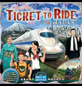 Days of Wonder Aventuriers du rail (les) : Japon & Italie [multilingue]