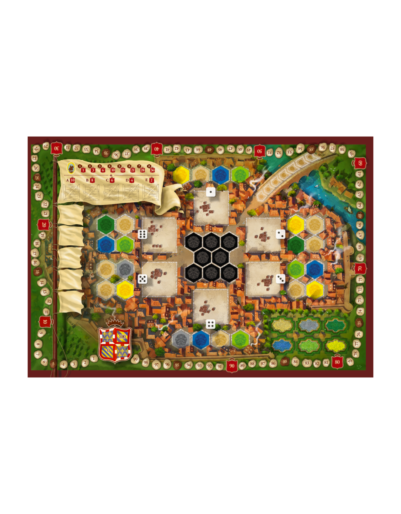Ravensburger Castles of Burgundy (the) (New Edition) [multilingue]