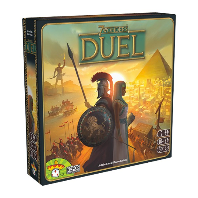 Repos Production 7 Wonders - Duel (+ carte promo) [French]
