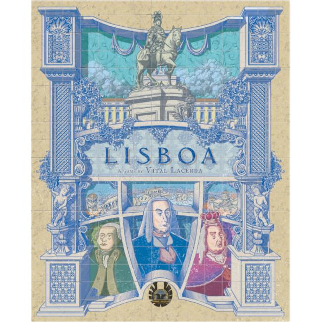 Eagle-Gryphon Games Lisboa - Deluxe Edition [anglais]