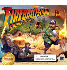 Restoration Games Fireball Island : Spider Springs [anglais]