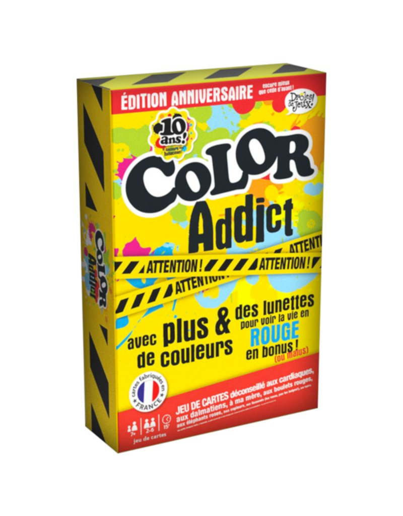 France Cartes Color Addict - Édition 10e anniversaire [français]