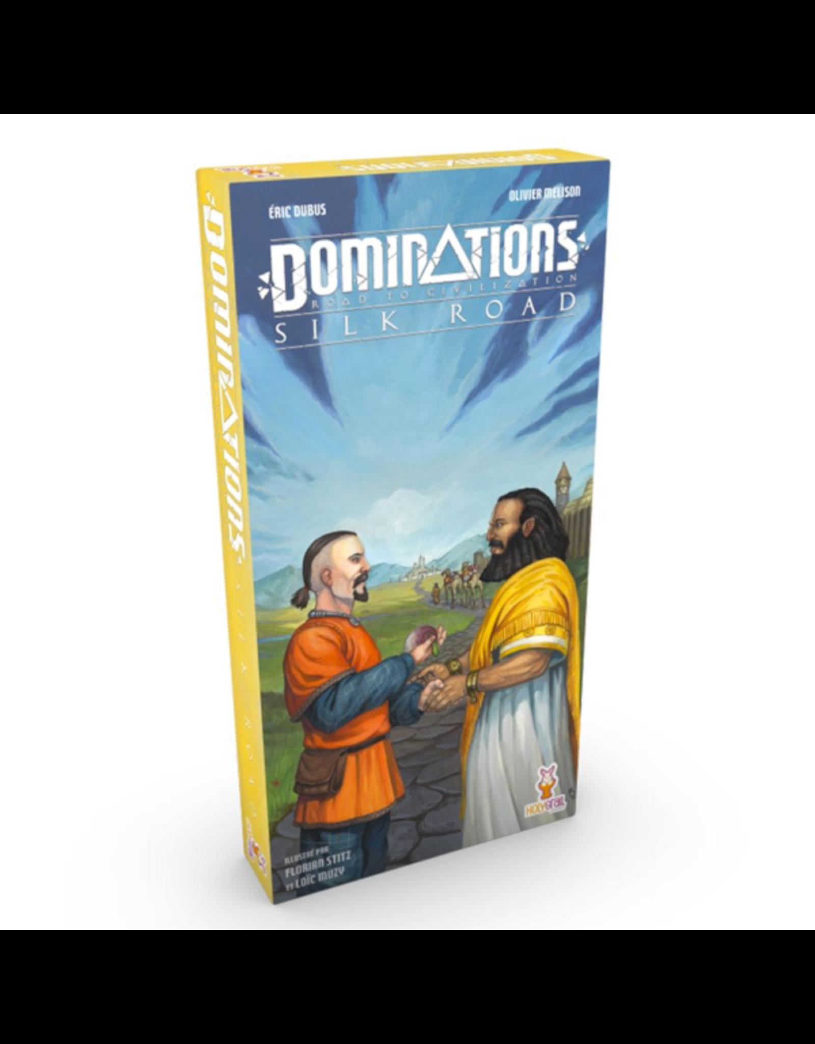 Holy Grail Games Dominations : Silk Road [français]