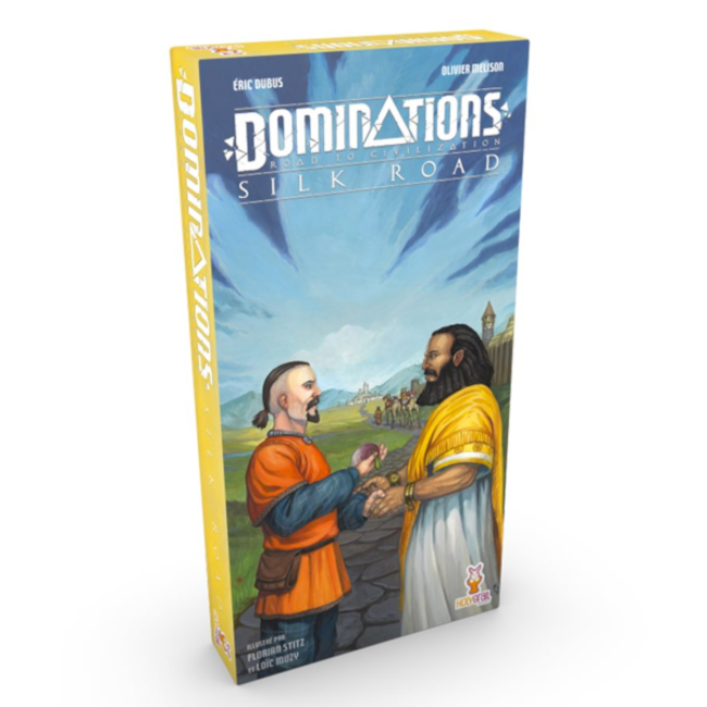 Holy Grail Games Dominations : Silk Road [French]