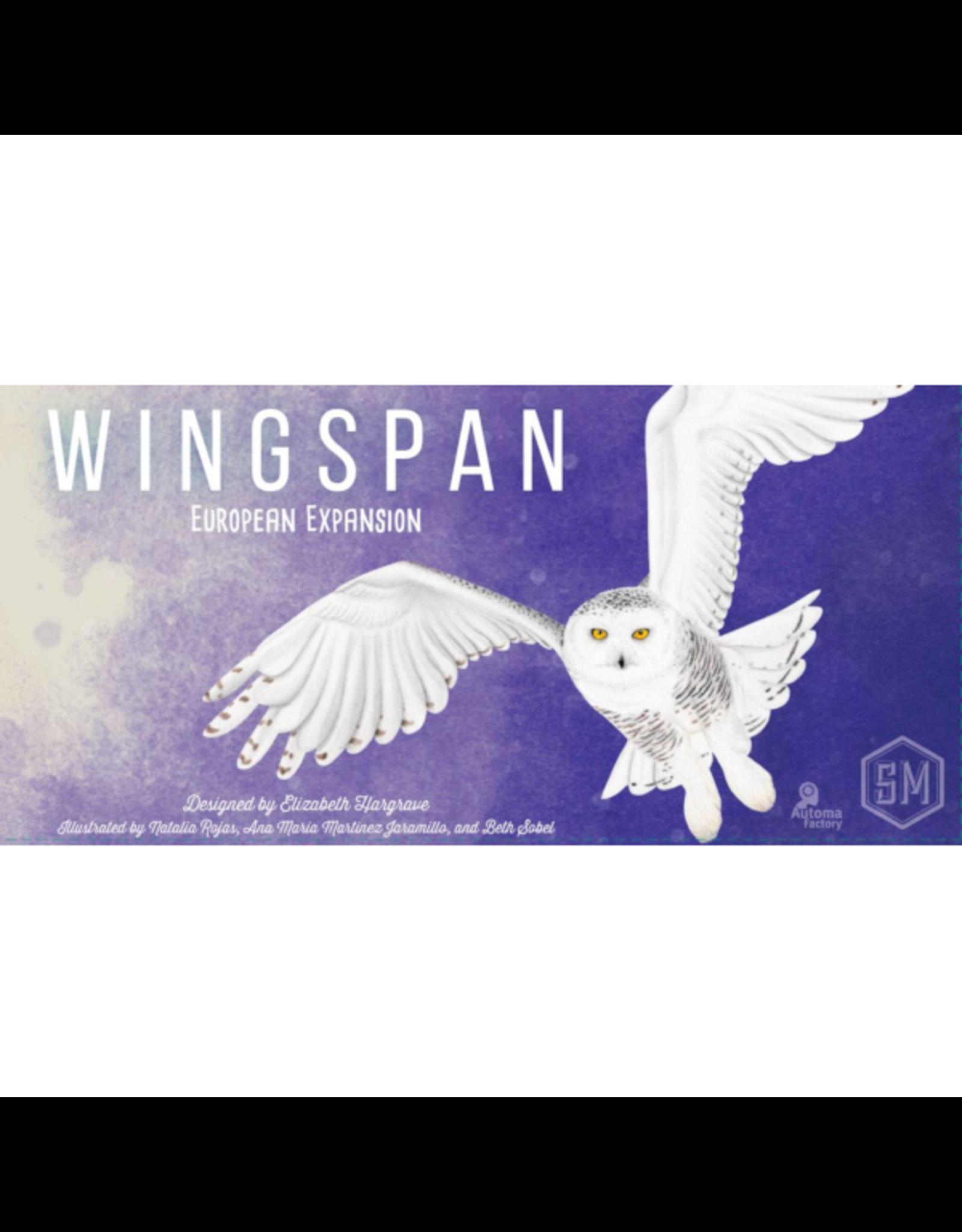 Stonemaier Games Wingspan : European Expansion [anglais]