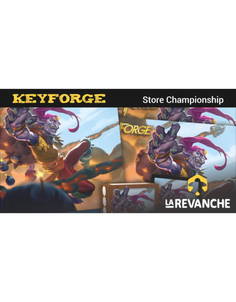 """La Revanche Tournoi Keyforge - """"Store Championship"""" - 20 octobre 2019"""