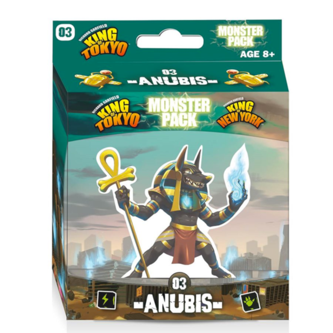 Iello King of Tokyo : Monster Pack - Anubis [French]