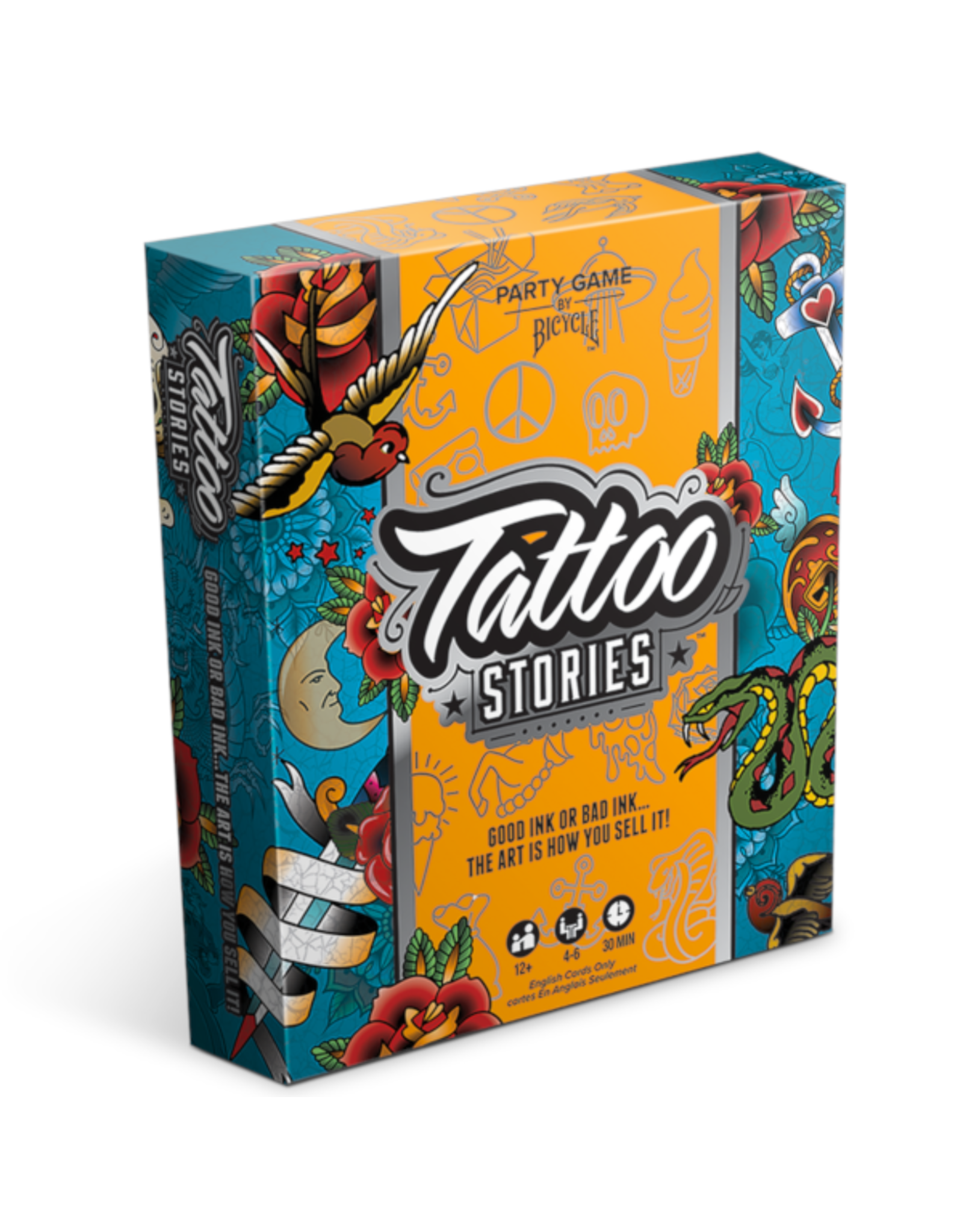 Bicycle Tattoo Stories [anglais]