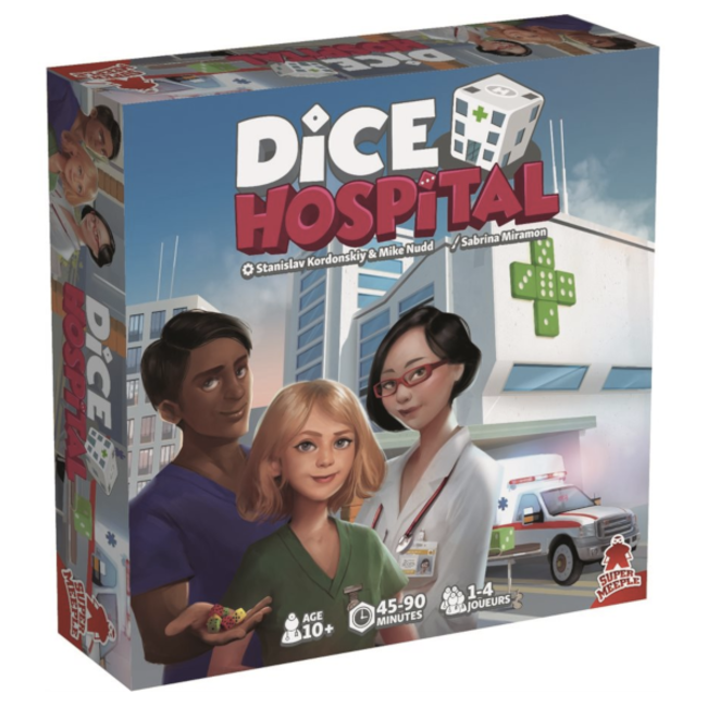Super Meeple Dice Hospital [French]
