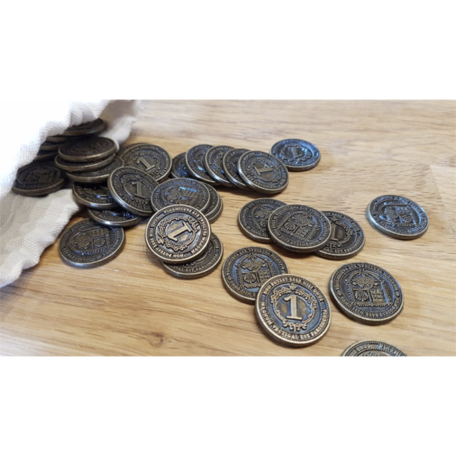 Funtails Glen More II - Chronicles : 40 pièces de métal (Metal Coins)