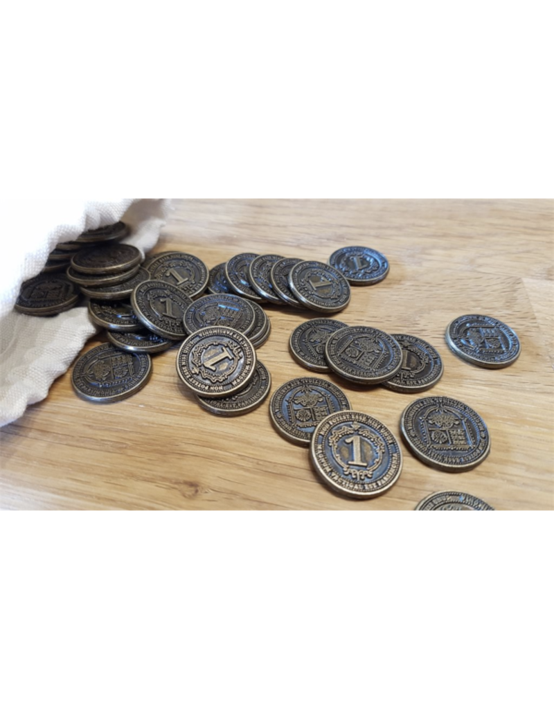 Funtails Glen More II - Chronicles : 40 Metal Coins [anglais]