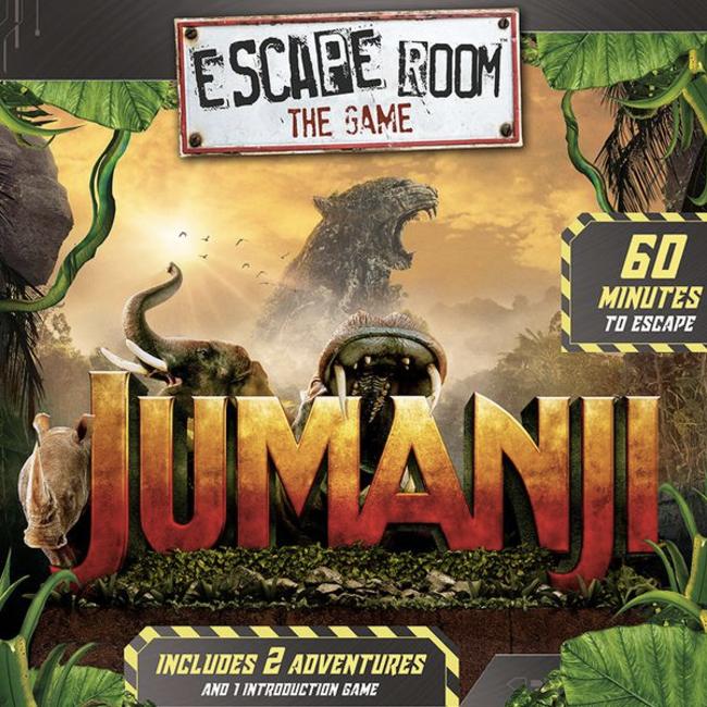 Identity Games International Escape Room - Jumanji [anglais]