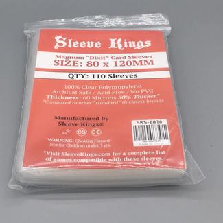 Sleeve Kings Card sleeves (80mm x 120mm) - 110 pack [SKS-8816]