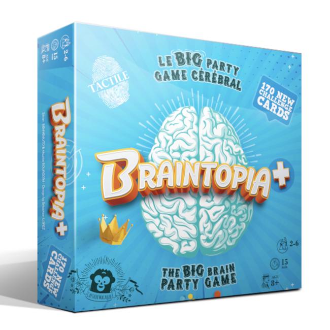 Captain Macaque Braintopia + [French]