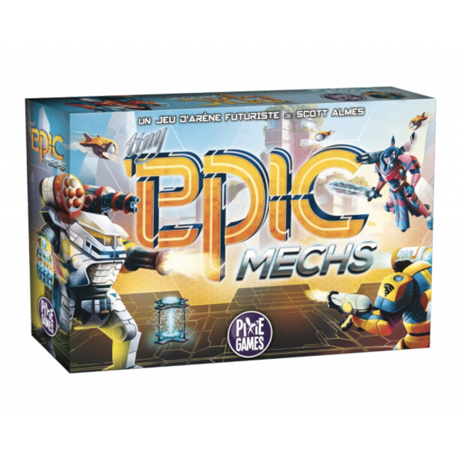 Pixie Games Tiny Epic Mechs [French]