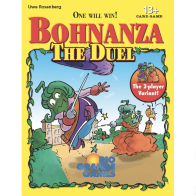 Rio Grande Games Bohnanza - The Duel [English]