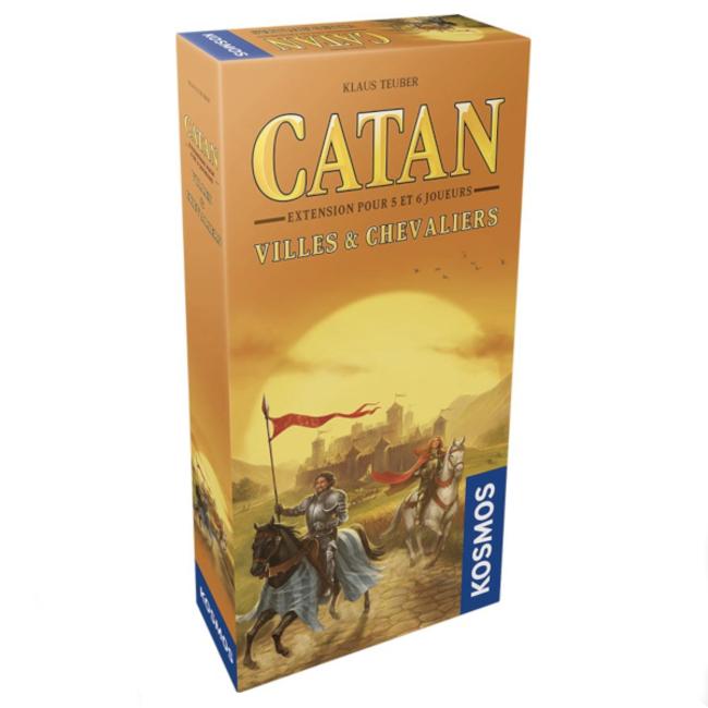 Kosmos Catan : Villes et Chevaliers : 5-6 joueurs [French]