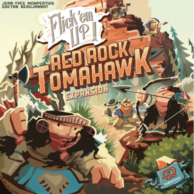 Pretzel Games Flick'em Up ! : Red Rock Tomahawk [multilingue]