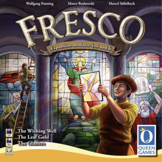Queen Games Fresco : Expansion Modules 4, 5 and 6 [Multi]