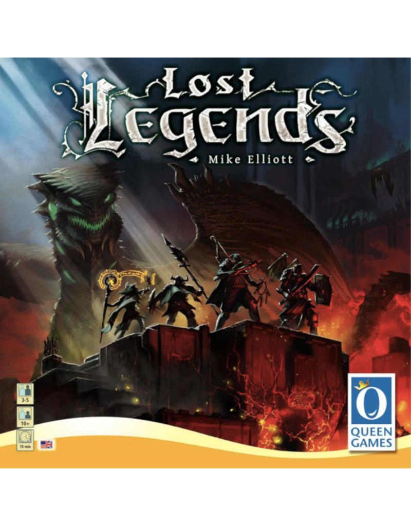 Queen Games Lost Legends [anglais]