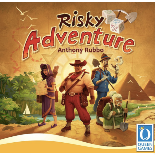 Queen Games Risky Adventure [anglais]