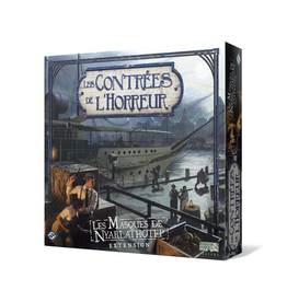 Fantasy Flight Games Contrées de l'horreur (les) : Les masques de Nyarlathotep [français]