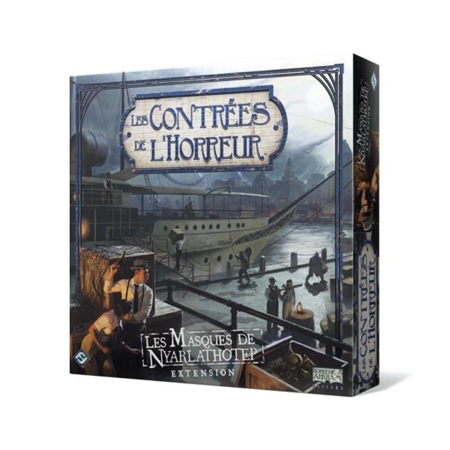 Fantasy Flight Games Contrées de l'horreur (les) : Les masques de Nyarlathotep [French]