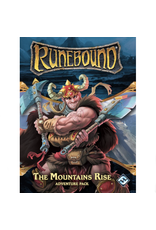 Fantasy Flight Games Runebound (3rd edition) : Adventure pack - The Mountains Rise [anglais]