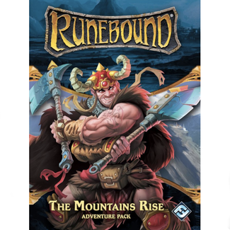 Fantasy Flight Games Runebound (3rd edition) : Adventure pack - The Mountains Rise [English]