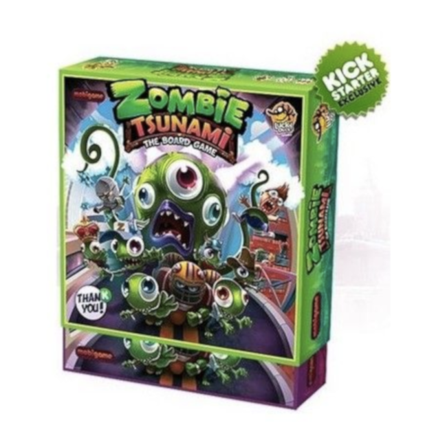 Lucky Duck Games Zombie Tsunami - Ultimate Edition [Multi]