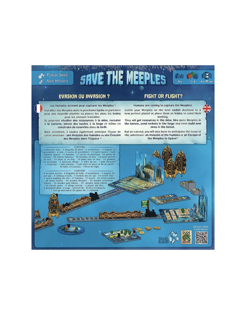 Blue Cocker Save the Meeples [multilingue]