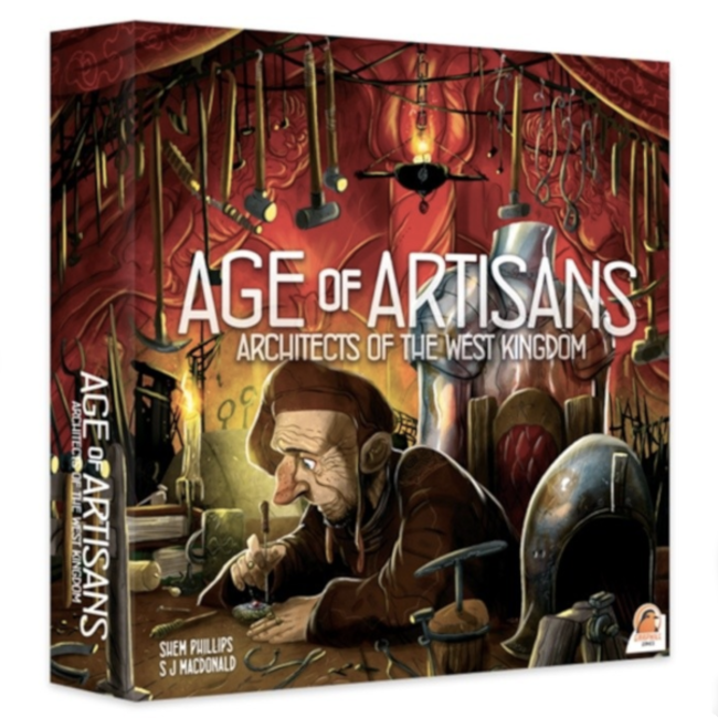 Renegade Game Studios Architects of the West Kingdom : Age of Artisans [English]
