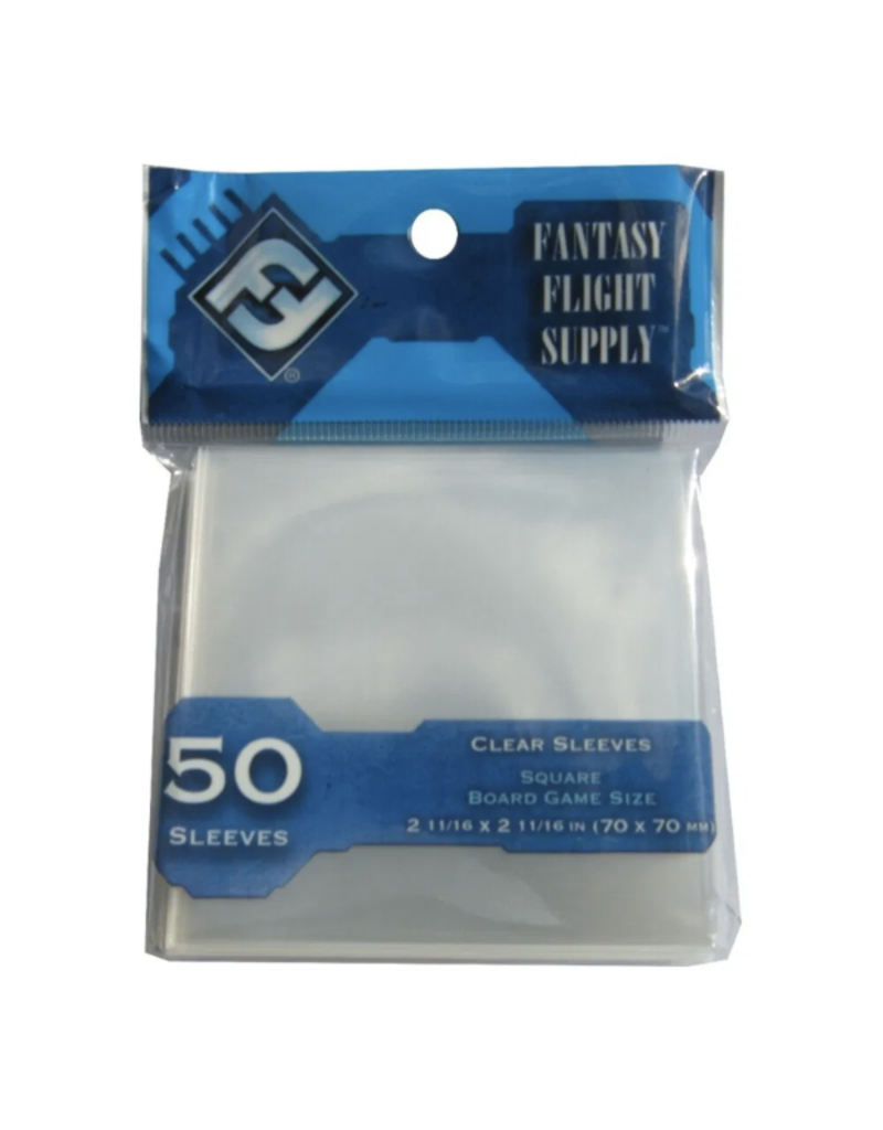 Fantasy Flight Games Protecteurs de cartes (70mm x 70mm) - Paquet de 50 [FFS65]