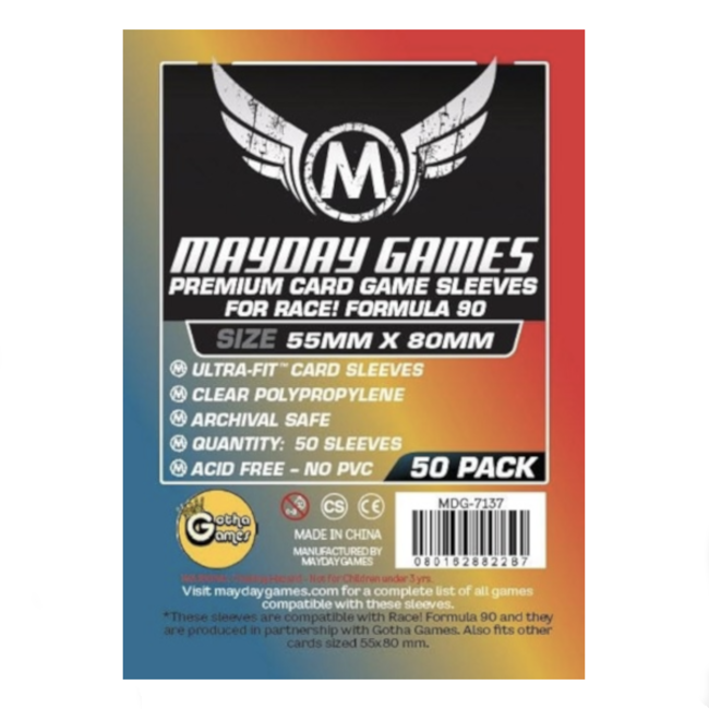 Mayday Games Card sleeves (55mm x 80mm) - 50 pack [MDG-7137]