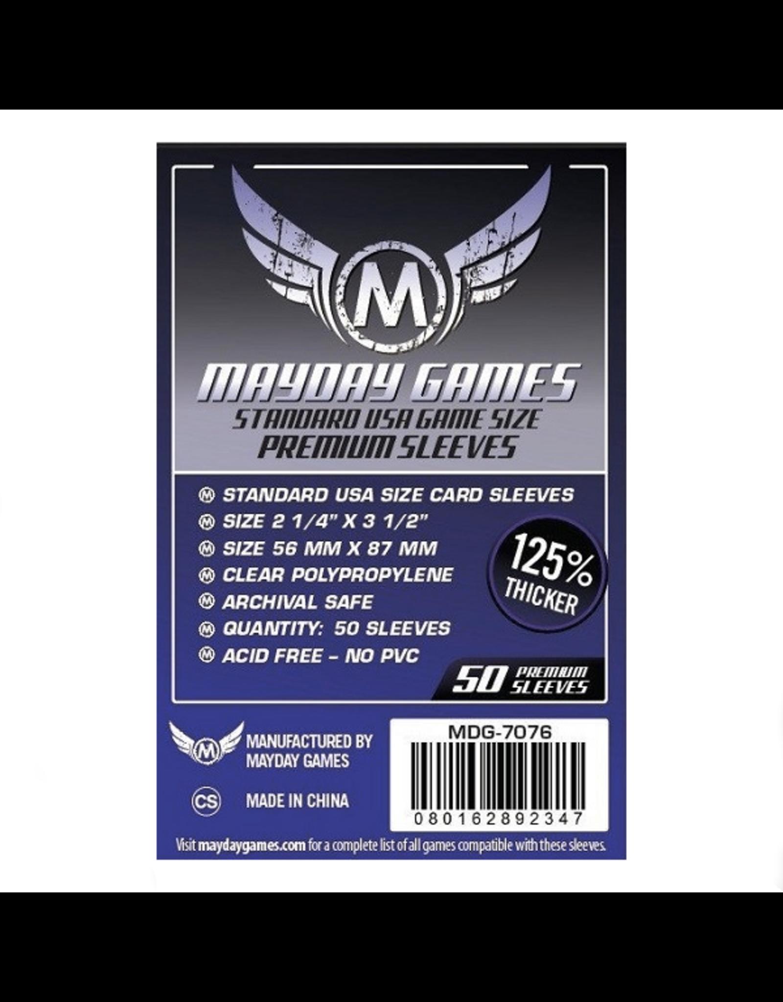 Mayday Games Protecteurs de cartes (56mm x 87mm) - Paquet de 50 [MDG-7076]