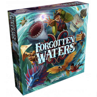 Plaid Hat Games Forgotten Waters - A Crossroads Game [English]