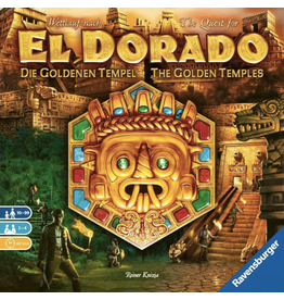 Ravensburger Quest for El Dorado (the) - Golden Temples [anglais]