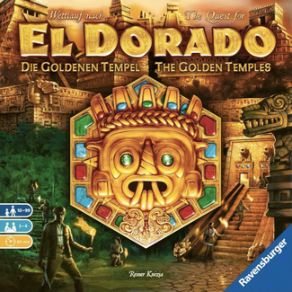 Ravensburger Quest for El Dorado (the) - Golden Temples [English]