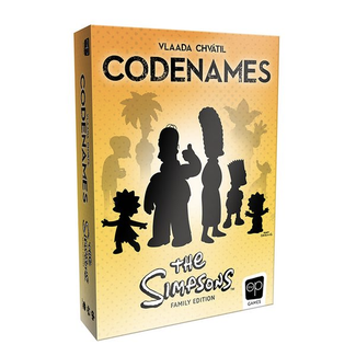 OP Games Codenames - Simpsons [anglais]